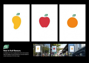 Tic-tac: Fruity  Posters Outdoor Advert by GREYnJ United Thailand