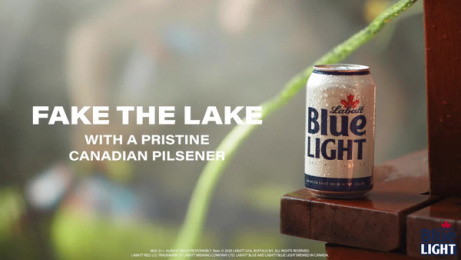 Labatt Blue: Fake It Til You Lake It, 3 Film by Burns Group, New York, USA