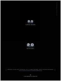 Diamond Trading Company: TURNS HEADS Print Ad by J. Walter Thompson New York