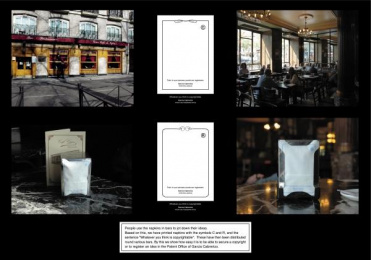 Patents & Brands: NAPKIN Outdoor Advert by DDB Madrid