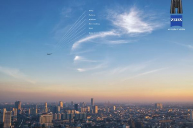 Zeiss: Airplane Print Ad by Archer Troy Mexico