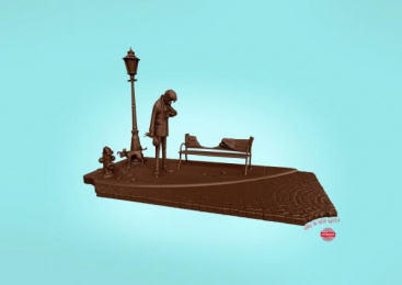Evropa Chocolate: Outdoors Print Ad by New Moment New Ideas Company Skopje