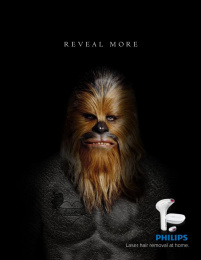 Philips: Chewbacca Print Ad by Miami Ad School Miami