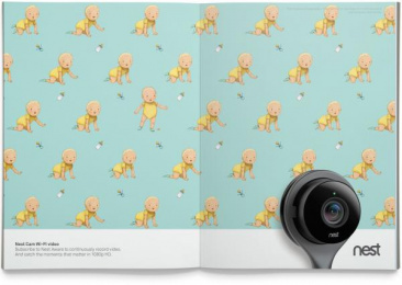 Nest: Video Print Ad by BBH New York