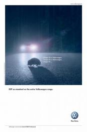 Volkswagen Golf: HEDGEHOGS Print Ad by V Agency Paris