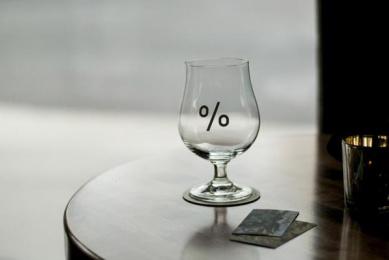 Proof Cocktails & Curiosities: Pr%F Identity, 8 Design & Branding by Wax