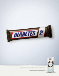 Tru Chocolate: Tru - Diabetes Print Ad by MMB