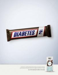 Tru Chocolate: Tru - Diabetes Print Ad by MMB