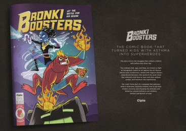 Cipla: Bronki Boosters, 2 Print Ad by Native VML Johannesburg