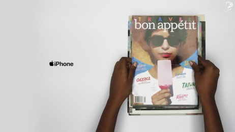 iPhone: Case study Print Ad by TBWA\Media Arts Lab Los Angeles
