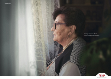 Kia: Grannies - Dolores Print Ad by Innocean Worldwide Europe