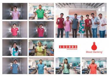 Indian Red Cross Society: Blood Banking [image] 4 Digital Advert by J. Walter Thompson Mumbai