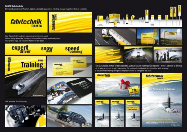 DRIVING SKILLS SERVICE: SCHICKSAL / FATE Design & Branding by Spirit Design