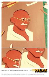 Olfa: Sharpness, 3 Print Ad by B.S. Bandekar College Of Fine Art