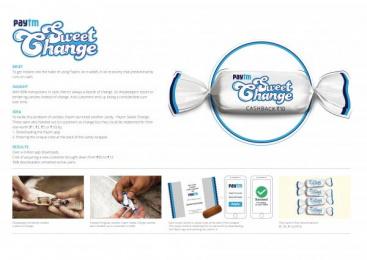 Paytm: Paytm Sweet Change [image] Direct marketing by Collective Image Productions Pvt. Ltd., McCann Erickson Mumbai