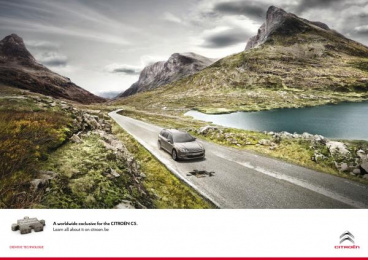 Citroen C5: Puzzle Print Ad by Euro Rscg Brussels, Touche