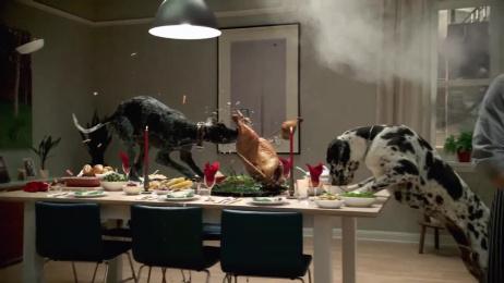Vizio: Turkey dinner Film by David&Goliath, MJZ