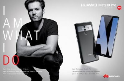 Huawei Mate10 Pro: I am What I Do, 13 Print Ad by Doner
