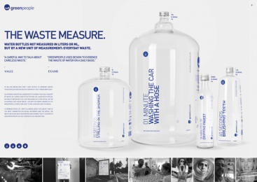 Greenpeople: The Waste Measure Print Ad by 7 Filmes Produções, Cheil Sao Paulo