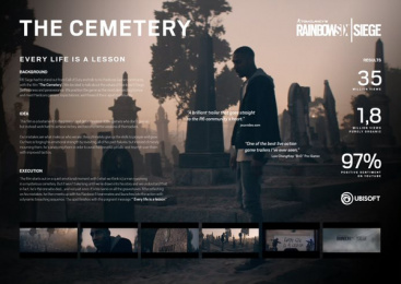 Rainbow Six SIEGE: The Cemetery - Board Case study by CLM BBDO Paris, Henry