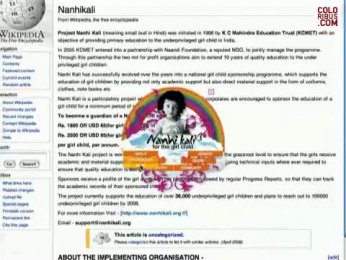 Nanhi Kali Organization: GIRLSMILES.ORG Film by StrawberryFrog