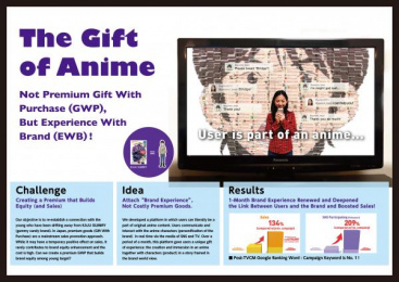 Meiji: THE GIFT OF ANIME Promo / PR Ad by Yomiko Advertising