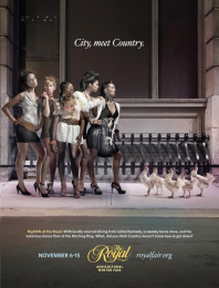 Royal Agricultural Winter Fair: Girls vs. Hens Print Ad by Zig