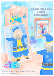 rebrandingchristmas.com: Santa is Fabulous Print Ad by 360i, Seiden, Ss+k New York, Studio Klew