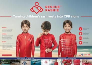 Westpac: Rescue Rashie [image] Design & Branding by Rumble Studios, Saatchi & Saatchi Sydney, Scoundrel