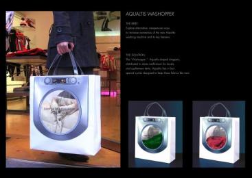 Washopper: AQUALTIS WASHOPPER Print Ad by Leo Burnett Milan