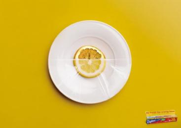 Ziploc: Lemon Print Ad by Strange Idea Ad
