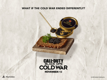 Activision: What if the Cold War ended differently?: Smorrebrod Print Ad by Stendahls