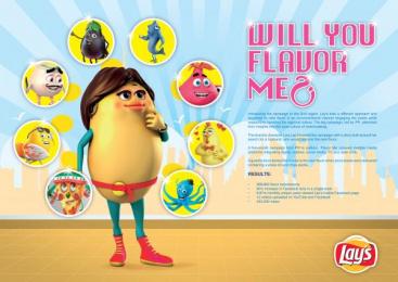 Lays: FLAVOR ME Promo / PR Ad by Impact Porter Novelli Saudi Arabia