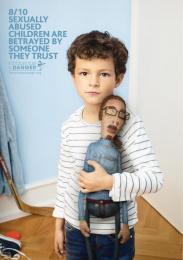 Innocence En Danger: Pedophile Teddy Bears- Coach Print Ad by Rosapark Paris, Wanda Productions