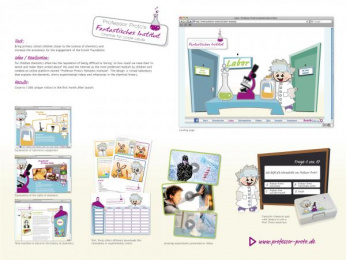 Evonik Industries: PROFESSOR PROTO'S FANTASTIC INSTITUTE Digital Advert by At Sales Essen