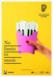 Philharmonie De Paris: Piano Print Ad by BETC