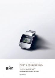Braun BN0106: Back to the future, 1 Print Ad by BBDO Dusseldorf