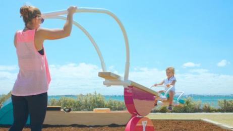 YMCA: Ymca Playnasium [image] 5 Outdoor Advert by McCann Erickson Melbourne