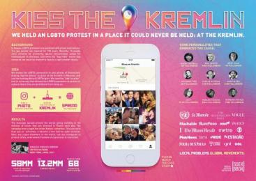 Ssex Bbox: Kiss The Kremlin [image] Digital Advert by DM9DDB Sao Paulo