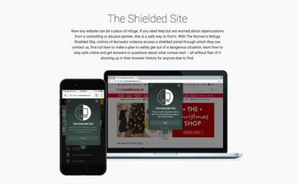 Women's Refuge New Zealand: The Shielded Site, 1 Digital Advert by Saatchi & Saatchi New Zealand
