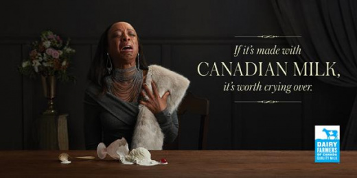 Dairy Farmers Of Canada: Ice cream Outdoor Advert by DDB Toronto, OPC
