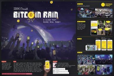 IBM: IBM BITCOIN RAIN Digital Advert by Ogilvy Sao Paulo