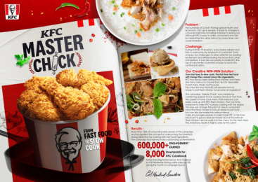Kentucky Fried Chicken (KFC): Master Chick Print Ad by Brilliant & Million