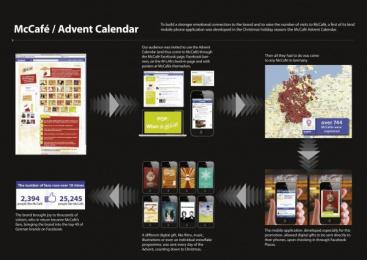 McDonald's: THE DIGITAL ADVENT CALENDAR Promo / PR Ad by TBWA\ Berlin