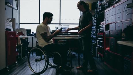 Accenture: Wheelchair Fitness Tracker Digital Advert by Accenture