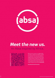 Absa Bank: Business Day - Meet The New Us, 2 Print Ad by FCB Johannesburg
