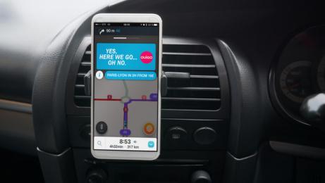 Ouigo: Traffic Jam, 2 Print Ad by Rosapark Paris, ZenithOptimedia Paris, Partizan
