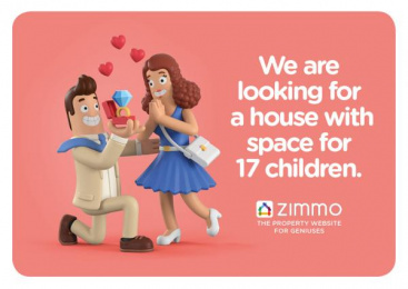 Zimmo: The Property Website for Geniuses, 2 Print Ad by Publicis Brussels
