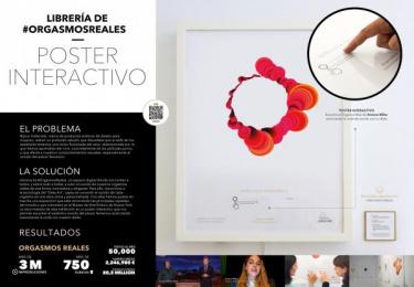orgasmsoundlibrary.com: Librería de orgasmos [interactivo poster]  Digital Advert by Proximity Madrid