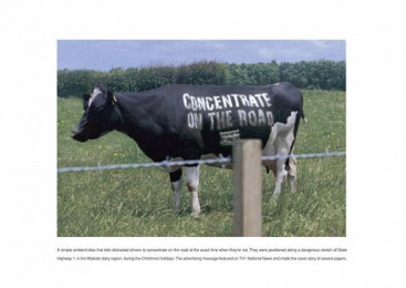 Road Safety: COWS Print Ad by Colenso BBDO Auckland